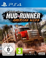 PS4 - Spintires : MudRunner American Wilds Edition F Box