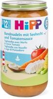 HiPP Bandnudeln mit Seelachs und Tomaten