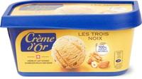 Crème d'or Les trois noix