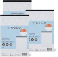 Papeteria Notizblock A4 im 3er-Pack, FSC