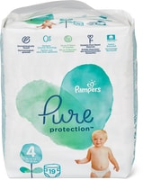 Couches Pampers Pure Protection