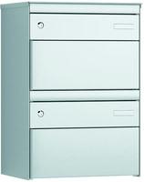 Stebler 2x Boites aux lettres S:13 RAL9006/9006