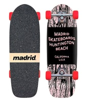 Madrid Woodtone Skateboard