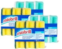 Miobrill synthetische Reinigungsschwämme im 4er-Pack