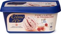 Crème d'or Fior di Latte & framboise