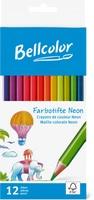 Crayons de couleur Neon Bellcolor, FSC