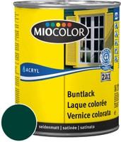 Miocolor Acryl Vernice colorata satinata Verde muschio 125 ml