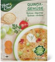Soupe quinoa-légumes Bon chef