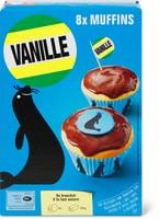 Backmischung Vanille-Muffins