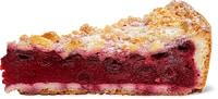 Gâteau aux cerises avec crumble, 1part