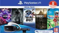 Sony PS4 Virtual Reality Megapack 2 inkl. 5 Games Bundle