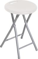 Do it + Garden Chaise pliante blanc