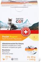Alimento per gatti a base di spezzatino Natura Cat