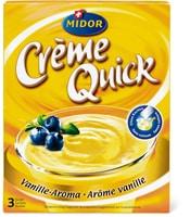 Crème Quick Arôme vanille