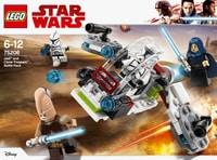 Lego Star Wars 75206 Pack de combat des Jedi™ et des Clone Troopers™