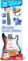 Electric Guitar And Microphone