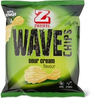 Zweifel Wave Chips Sour cream