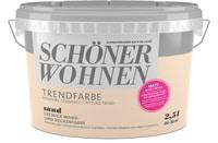 Schöner Wohnen Vernice di tendenza opaca Sand 2.5 l