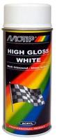 MOTIP Peinture rallye blanc high gloss 150 ml Peinture aérosol