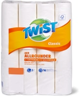 Twist Haushaltpapier in Mehrfachpackungen
