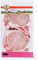 Côtelettes de porc «De la région.»