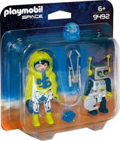 Astronauta e Robot