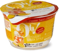 Oh! Yogurt Greek Style Honig Ingwer