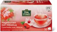 Tea Time Cynorrhodon avec fleurs d'hibisc