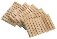 WENKO Pinces à linge bois FSC 50 pièces