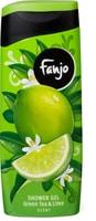 Fanjo gel de douche aux senteurs fruitées green tea & lime