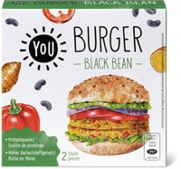 YOU Black Bean Burger