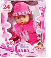 Bayer First Words Baby Bambola con funzioni 30 cm