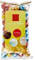 Boules de chocolat Frey assorties en emballage spécial, UTZ