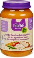 Mibébé riso verdure miste con pollo