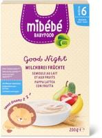 Mibébé Gute Nacht Milchbrei Früchte