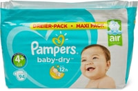 Pampers Baby Dry 4+ MP