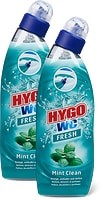 Boîtiers à suspendre et produits de nettoyage, Hygo WC, en lot de 2