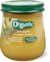 Organix Apfel grüne Bohnen
