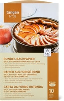 Tangan N° 38 rundes Backpapier, FSC