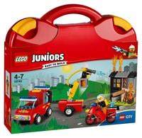 LEGO Juniors La valise La patrouille de surveillance 10740