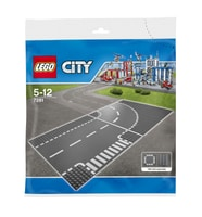 LEGO City Incrocio a T e curva 7281