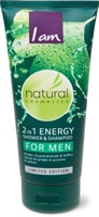 Shower 2in1 Energy for Men I am Natural Cosmetics