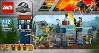 Lego Jurassic World Attacco all'avamposto del Dilofosauro 75931