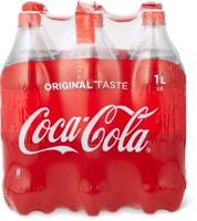 Coca-Cola da 1 l e in conf. da 6 x 1 l