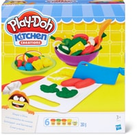 Play-Doh Set de pétrir, garnir et servir