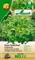 Samen Mauser Salade Feuille de Chéne Green Salad Bowl bio Semence