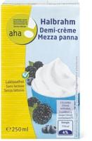 Demi-Creme exempte de lactose aha!