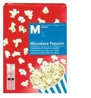 M-Classic microwave Popcorn salé