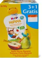 Hipp Quetschbeutel im 4er-Pack