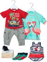 Gesamtes Baby- und Kinderbekleidungs-Sortiment